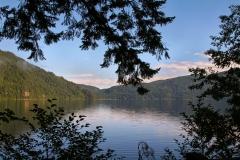 Crescent Lake Silhouette