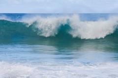 Ocean Waves Crashing in Hawaii