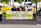 Daffodil Parade Sign digital painting