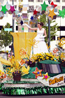 Daffodil Parade Float digital painting