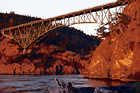Deception Pass at Sunset digital painting