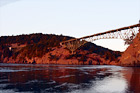 Deception Pass During Sunset digital painting