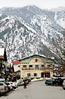 Downtown Leavenworth & Big Mountain digital painting