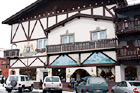 Leavenworth Bavarian Hotel digital painting