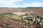 Grand Coulee City digital painting