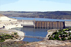 Grand Coulee Dam digital painting