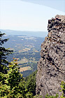 Rock Cliff & View at top of Mt. Si digital painting