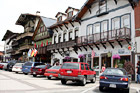 Leavenworth Bavarian Shops digital painting