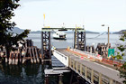 Lopez Island Ferry Dock digital painting