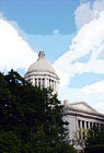 Capitol Building in Washington State digital painting