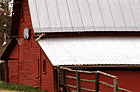 Basketball Hoop on Barn photo thumbnail