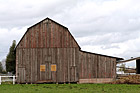 Brown Barn & Clouds photo thumbnail