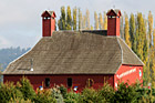Red Barn & Xmas Decorations photo thumbnail