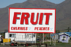 Fruit Sign off the Highway photo thumbnail